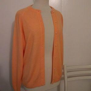 Sweaters - Orange Cream Cardigan